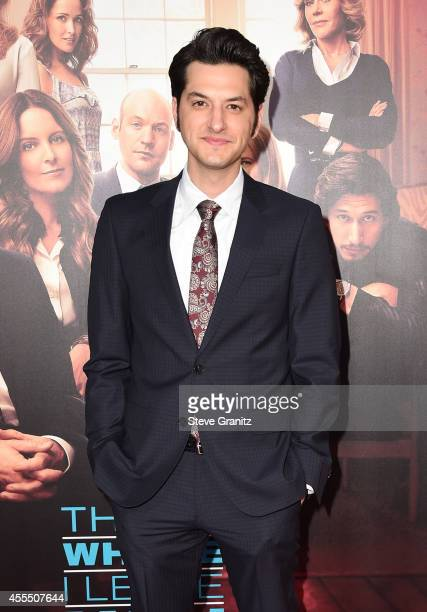 Actor Ben Schwartz arrives at the This Is Where I Leave You premiere at TCL Chinese Theatre on September 15 2014 in Hollywood California