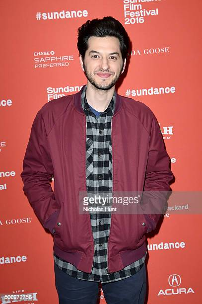 Actor Ben Schwartz attends the 'The Intervention' Premiere during the 2016 Sundance Film Festival at Eccles Center Theatre on January 26 2016 in Park...