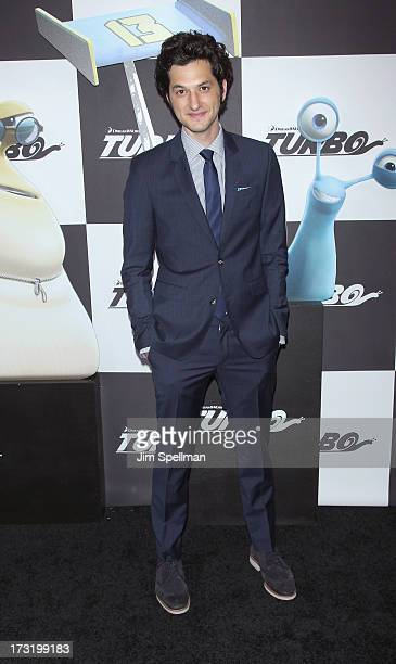 """Actor Ben Schwartz attends the """"Turbo"""" New York Premiere at AMC Loews Lincoln Square on July 9, 2013 in New York City."""