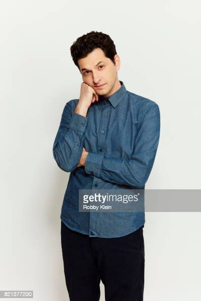 Actor Ben Schwartz from Disney's 'DuckTales' poses for a portrait during ComicCon 2017 at Hard Rock Hotel San Diego on July 21 2017 in San Diego...