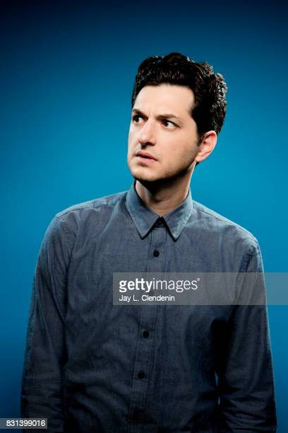 Actor Ben Schwartz from the television series DuckTales is photographed in the LA Times photo studio at ComicCon 2017 in San Diego CA on July 21 2017...