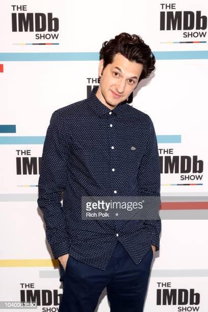 Actor Ben Schwartz visits 'The IMDb Show' on September 12 2018 in Studio City California This episode of 'The IMDb Show' airs on September 27 2018