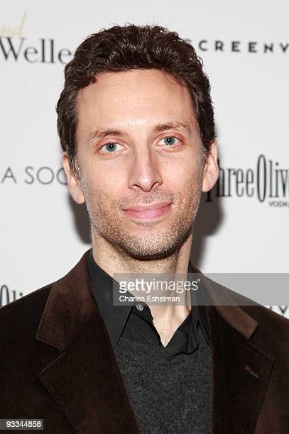 """Actor Ben Shenkman attends a screening of """"Me And Orson Welles"""" hosted by the Cinema Society, Screenvision and Brooks Brothers at Clearview Chelsea..."""