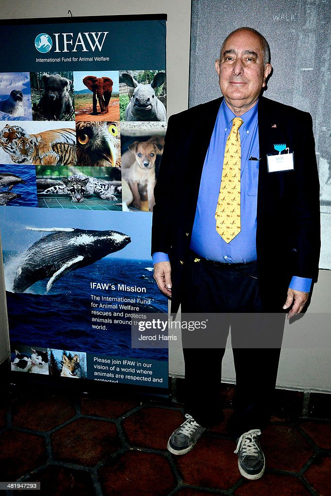Ben Stein And Alexandra Denman Host An Evening With Azzedine Downes, President And CEO Of The International Fund For Animal Welfare