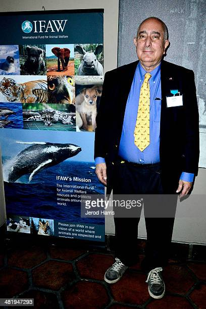 Actor Ben Stein attends an evening with Azzedine Downes President and CEO of the International Fund for Animal Welfare at Porta Via Restaurant on...