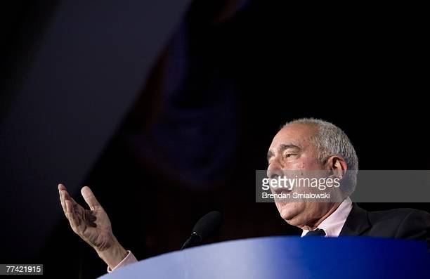 Actor Ben Stein speaks during the Family Research Council's 2007 Washington briefing October 19 2007 in Washington DC The legislative action arm of...