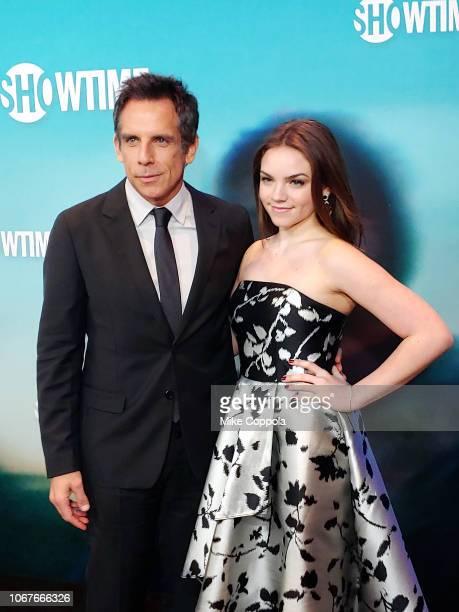 "Actor Ben Stiller and daughter Ella Olivia Stiller, attend ""Escape At Dannemora"" New York Series premiere at Alice Tully Hall, Lincoln Center on..."