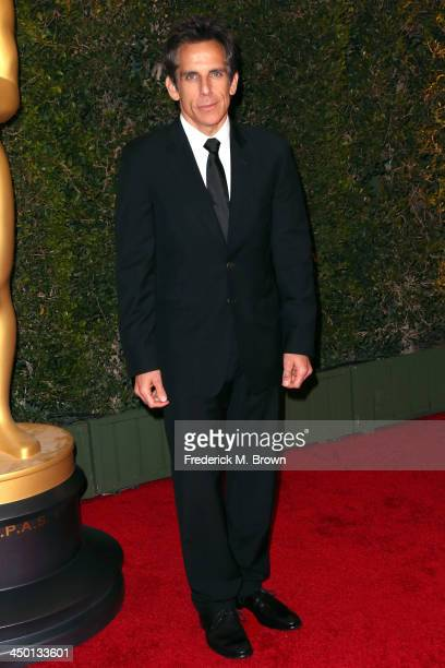 Actor Ben Stiller arrives at the Academy of Motion Picture Arts and Sciences' Governors Awards at The Ray Dolby Ballroom at Hollywood Highland Center...