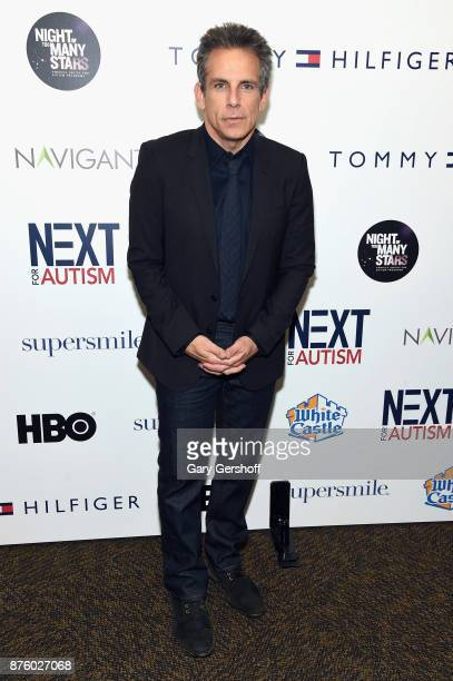 Actor Ben Stiller attends HBO's Night Of Too Many Stars America Unites For Autism Programs at The Theater at Madison Square Garden on November 18...