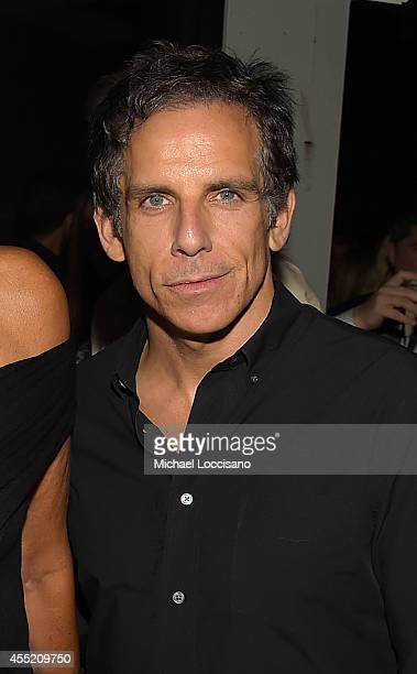 Actor Ben Stiller attends Russell James' 'Angels' book launch hosted by Victoria's Secret on September 10 2014 in New York City