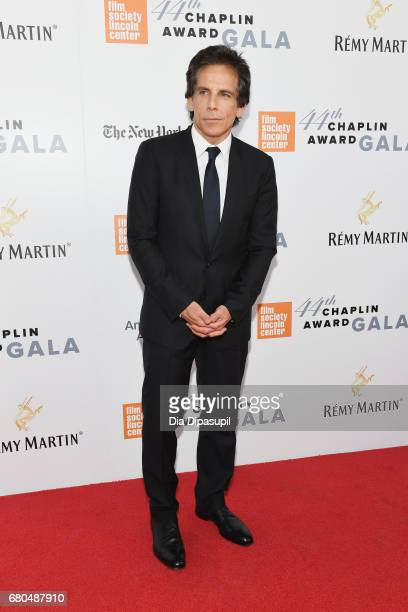Actor Ben Stiller attends the 44th Chaplin Award Gala at David H Koch Theater at Lincoln Center on May 8 2017 in New York City