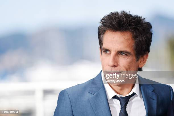 Actor Ben Stiller attends 'The Meyerowitz Stories' photocall during the 70th annual Cannes Film Festival at Palais des Festivals on May 21 2017 in...
