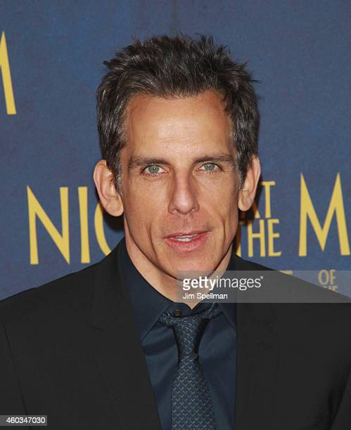 Actor Ben Stiller attends the Night At The Museum Secret Of The Tomb' New York premiere at the Ziegfeld Theater on December 11 2014 in New York City