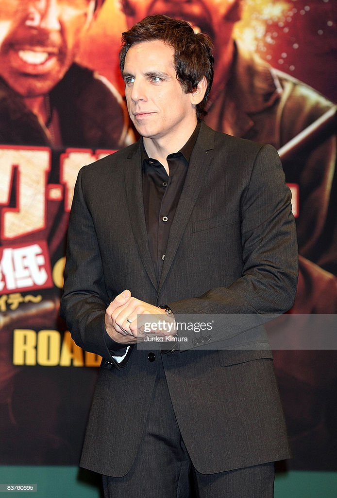Actor Ben Stiller attends the 'Tropic Thunder' press conference at Peninsula Tokyo on November 20, 2008 in Tokyo, Japan. The film will open on November 22 in Japan.