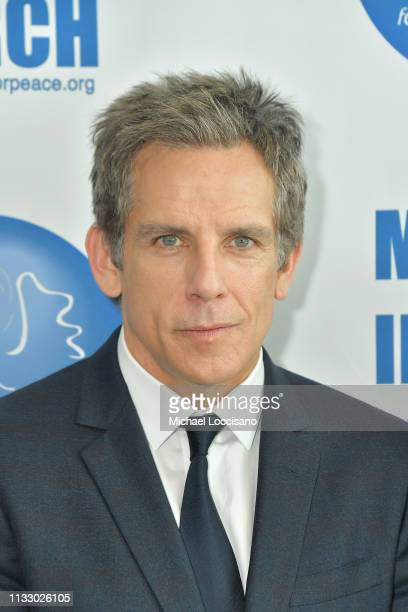 Actor Ben Stiller attends the UN Women for Peace Association 2019 International Women's Day celebration at United Nations Headquarters on March 01...