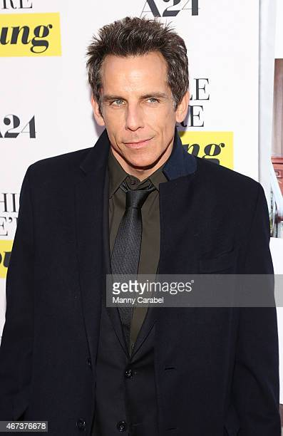 Actor Ben Stiller attends the 'While We're Young' New York Premiere at Paris Theater on March 23 2015 in New York City