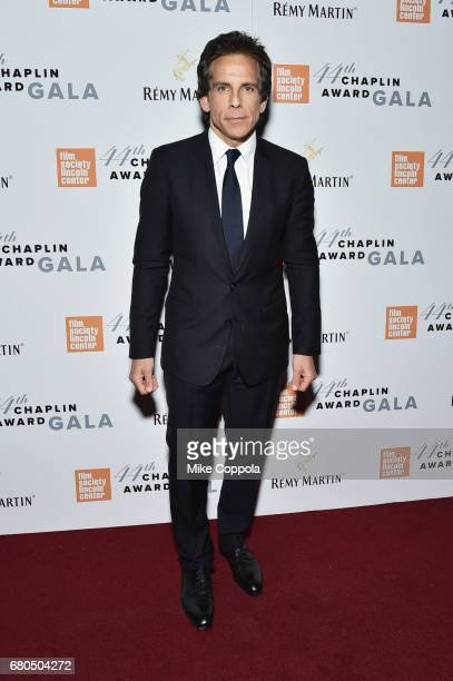 Actor Ben Stiller backstage during the 44th Chaplin Award Gala at David H Koch Theater at Lincoln Center on May 8 2017 in New York City