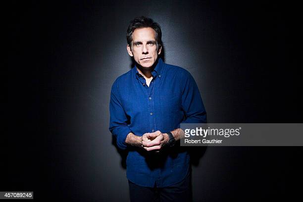 Actor Ben Stiller is photographed for Los Angeles Times on November 13 2013 in Hollywood California PUBLISHED IMAGE CREDIT MUST READ Robert...