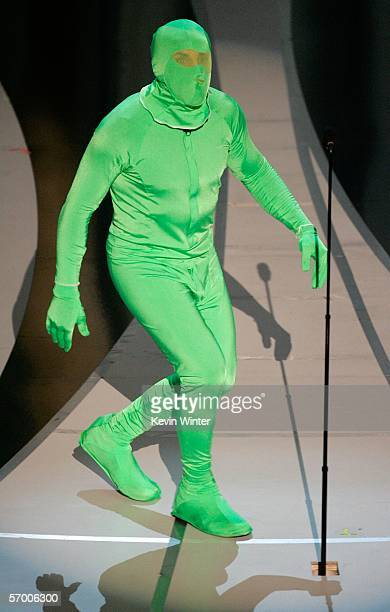 Actor Ben Stiller presents Achievement in Visual Effects on stage during the 78th Annual Academy Awards at the Kodak Theatre on March 5 2006 in...