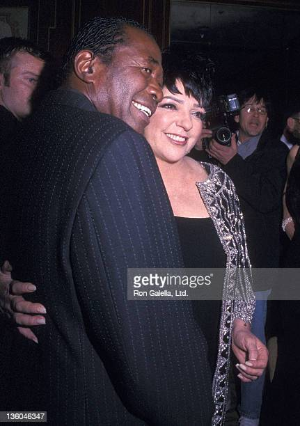 Actor Ben Vereen and actress/singer Liza Minnelli attend the 16th Annual Drama League Gala Salute to Liza Minnelli on January 31, 2000 at the Pierre...