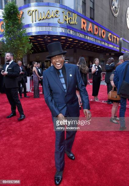 Actor Ben Vereen attends the 2017 Tony Awards at Radio City Music Hall on June 11 2017 in New York City