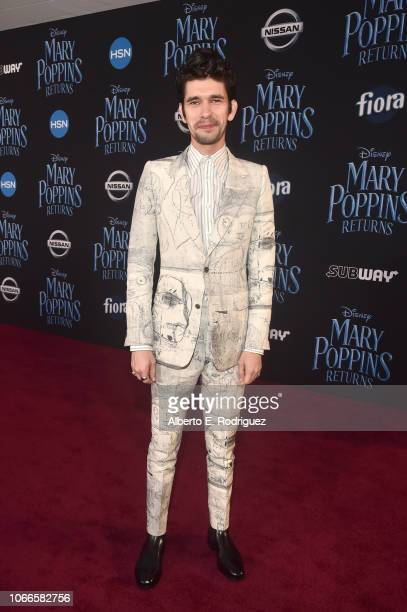 Actor Ben Whishaw attends Disney's 'Mary Poppins Returns' World Premiere at the Dolby Theatre on November 29 2018 in Hollywood California