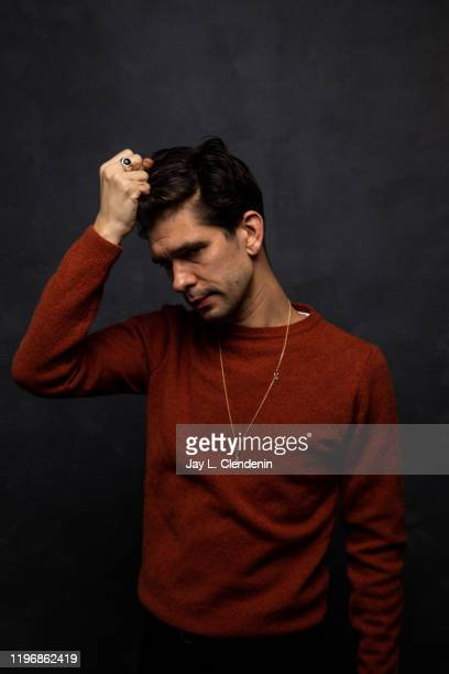 Actor Ben Whishaw from 'Surge' is photographed in the LA Times Studio at the Sundance Film Festival on January 25 2020 in Park City Utah PUBLISHED...