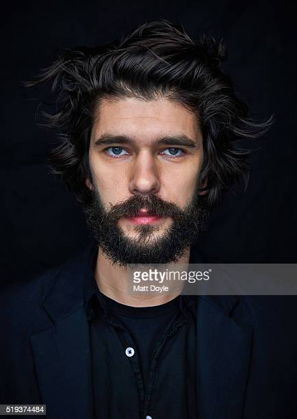 Actor Ben Whishaw is photographed for Back Stage on February 22 in New York City