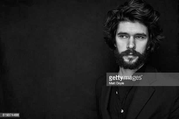 Actor Ben Whishaw is photographed for Back Stage on February 22 in New York City PUBLISHED IMAGE