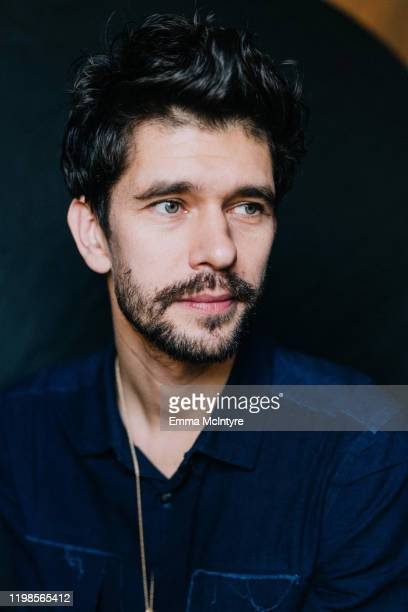 Actor Ben Whishaw of FX's Fargo poses for a portait at The Langham Huntington Pasadena on January 09 2020 in Pasadena California