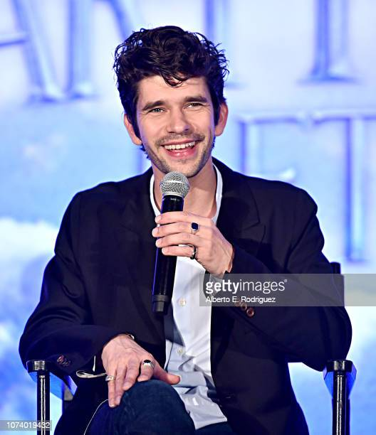Actor Ben Whishaw onstage during Disney's Mary Poppins Returns press conference at the Montage Beverly Hills on November 28 2018 in Los Angeles...