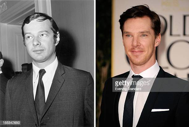 Actor Benedict Cumberbatch arrives at the 69th Annual Golden Globe Awards held at the Beverly Hilton Hotel on January 15, 2012 in Beverly Hills,...
