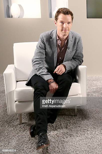 Actor Benedict Cumberbatch attends day one of Variety Studio Actors On Actors presented by Samsung Galaxy on November 8 2014 in Los Angeles California