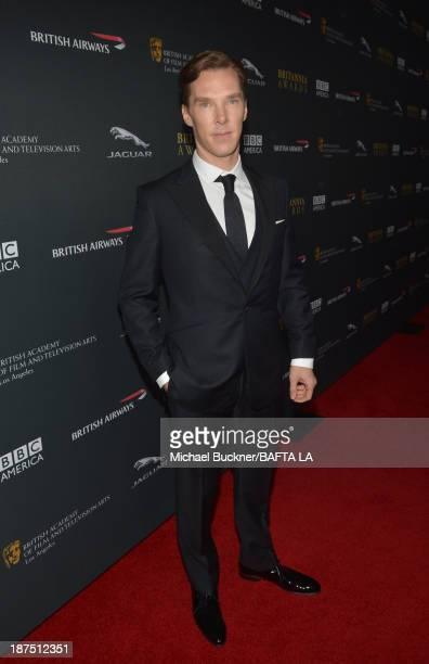 Actor Benedict Cumberbatch attends the 2013 BAFTA LA Jaguar Britannia Awards presented by BBC America at The Beverly Hilton Hotel on November 9 2013...