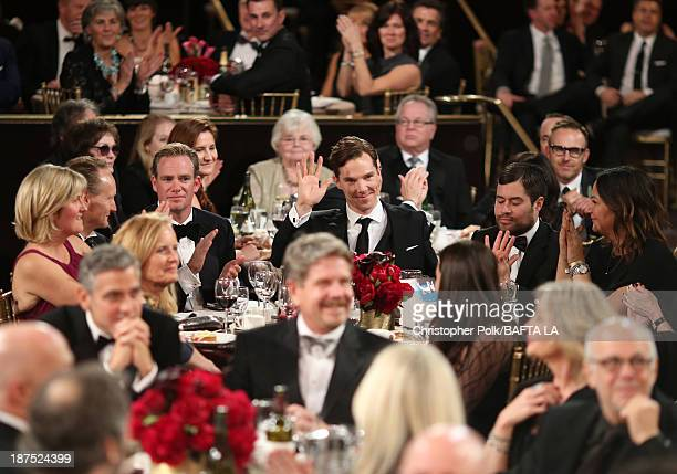Actor Benedict Cumberbatch attends the 2013 BAFTA LA Jaguar Britannia Awards presented by BBC America at The Beverly Hilton Hotel on November 9 2013...