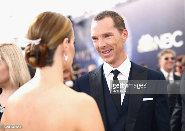 Actor Benedict Cumberbatch attends the 70th Annual Primetime Emmy Awards at Microsoft Theater on September 17 2018 in Los Angeles California