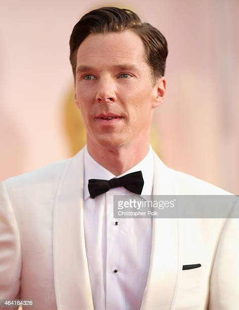 Actor Benedict Cumberbatch attends the 87th Annual Academy Awards at Hollywood & Highland Center on February 22, 2015 in Hollywood, California.