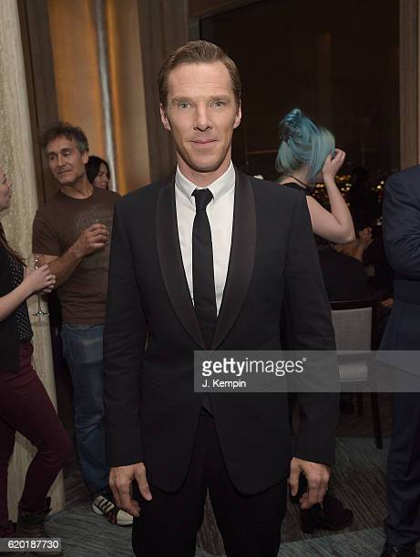 Actor Benedict Cumberbatch attends the after party for A Screening Of Marvel Studios' Doctor Strange at Bar SixtyFive on November 1 2016 in New York...