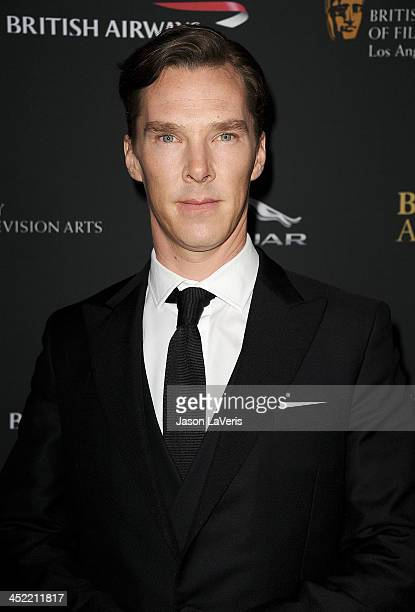Actor Benedict Cumberbatch attends the BAFTA Los Angeles Britannia Awards at The Beverly Hilton Hotel on November 9 2013 in Beverly Hills California