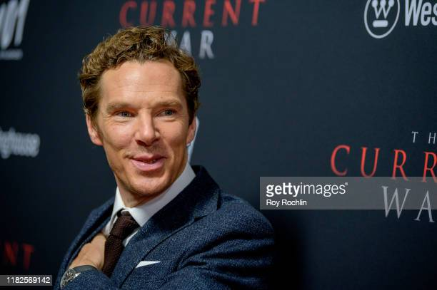 "Actor Benedict Cumberbatch attends ""The Current War"" New York Premiere at AMC Lincoln Square Theater on October 21, 2019 in New York City."