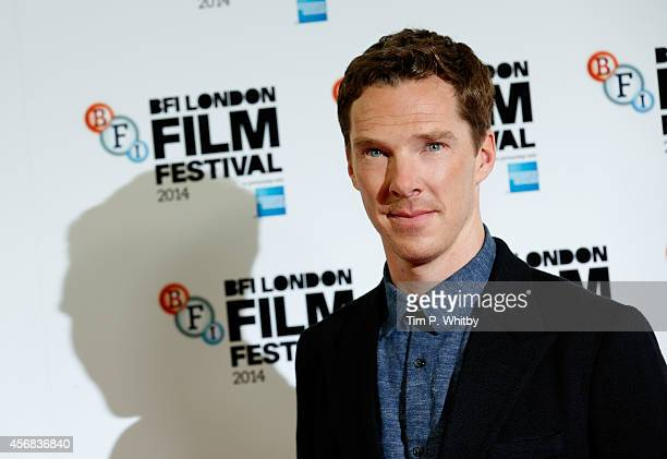 Actor Benedict Cumberbatch attends the photocall for The Imitation Game during the 58th BFI London Film Festival at Corinthia Hotel London on October...