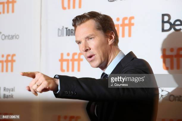Actor Benedict Cumberbatch attends the premiere of 'The Current War' during the 2017 Toronto International Film Festival at Princess of Wales Theatre...