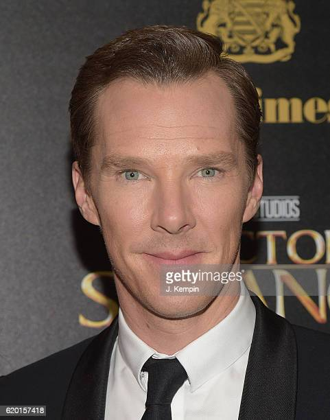 """Actor Benedict Cumberbatch attends the Screening of Marvel Studios' """"Doctor Strange"""" hosted by Lamborghini with the Cinema Society, Jaeger-LeCoultre..."""