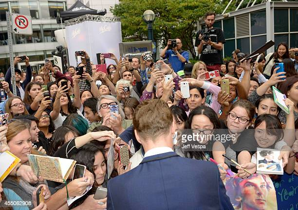 Actor Benedict Cumberbatch attends the 'The Imitation Game' premiere during the 2014 Toronto International Film Festival at Princess of Wales Theatre...