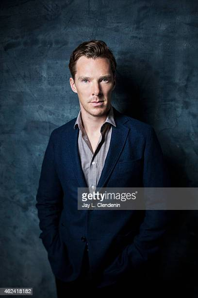 Actor Benedict Cumberbatch is photographed for Los Angeles Times on September 9 2014 in Toronto Ontario PUBLISHED IMAGE CREDIT MUST READ Jay L...