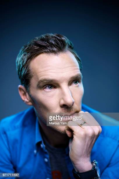 Actor Benedict Cumberbatch is photographed for Los Angeles Times on April 25 2018 in West Hollywood California PUBLISHED IMAGE CREDIT MUST READ...