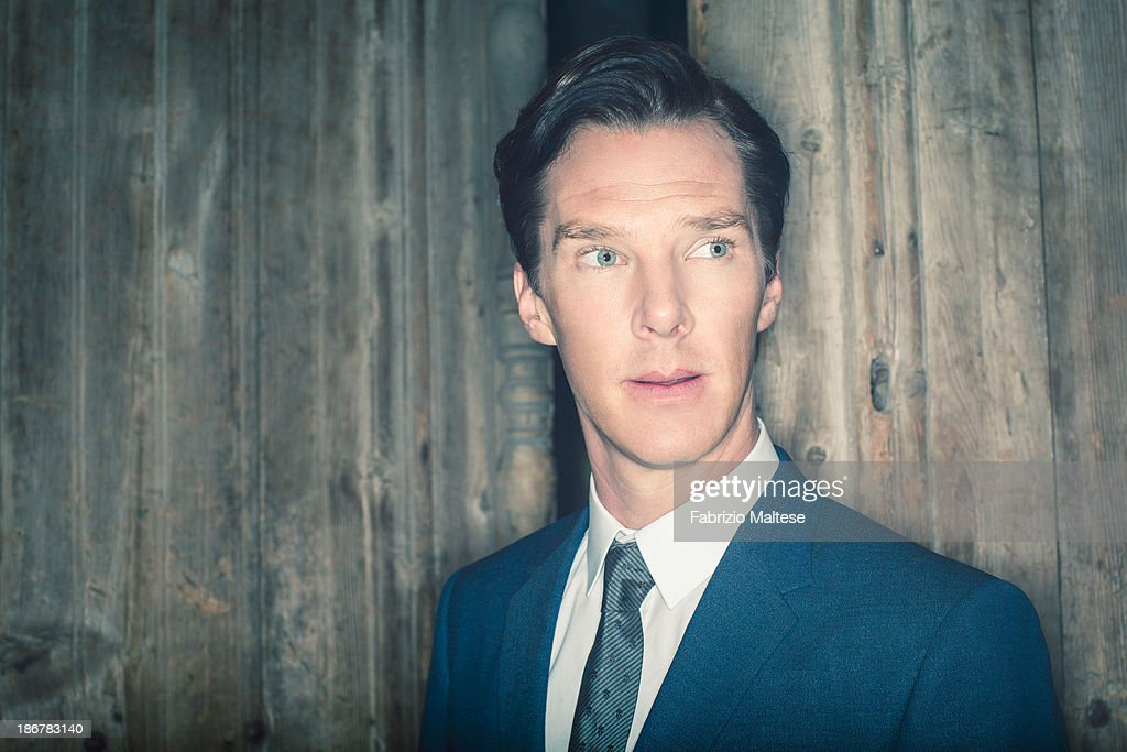 Actor Benedict Cumberbatch is photographed for The Hollywood Reporter during the 38th Toronto International Film Festival on September 7, 2013 in Toronto, Ontario.