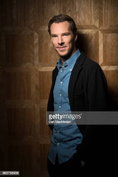 Actor Benedict Cumberbatch is photographed for USA Today on April 25 2018 in West Hollywood California
