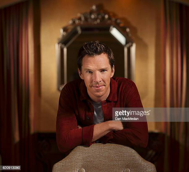 Actor Benedict Cumberbatch is photographed for USA Today on September 19 2016 in Beverly Hills California