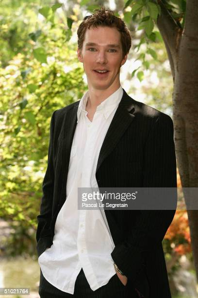 Actor Benedict Cumberbatch poses during a photocall at the 44th Monte-Carlo Television Festival on July 3, 2004 in Monte Carlo, Monaco.The...